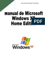 Manual de Microsoft Windows XP Home Edition