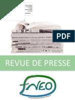 Revue de Presse 25 Janvier 2013