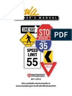 Iowa Drivers Manual - 2013