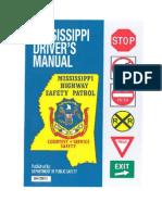Mississippi Drivers Manual - 2013