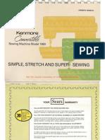 kenmore ultra stitch 12. kenmore 158.1980 manual ultra stitch 12