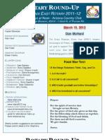 Bulletin 03.15.2012