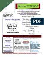 Bulletin 8.11.11
