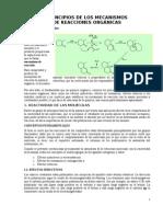Mecanismos de Las Reacciones Organicas