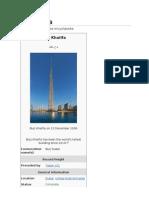 PDF Burj Khalifa