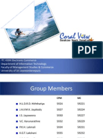 Presentation for hotel site- Coral View beach paradise