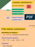 Organic Mechanisms OCR