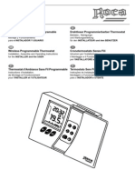 Manual Roca RX 100