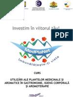 Curs Alte Utilizari Plante Medicinale