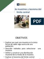MUESTREO Y T. LÍMITE CENTRAL
