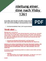 Bauanleitung Visby Plate