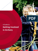 getting started in archery