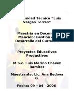 Tareas de Poyecto Educativos Productivos
