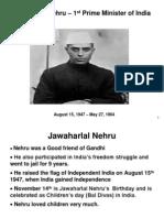 Jawaharlal Nehru - Culture 3 & 4