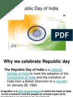 Republic Day celebration - Cullture 3 & 4
