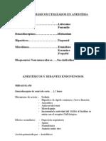 Medicación Anestésica