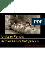Unite or Perish