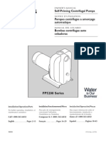 Flotec Water Pumps Owner's manual - Model FP30