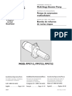 Flotec Water Pumps Owner's manual - Model FP327