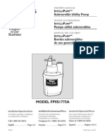 Flotec Water Pumps Owner's manual - Model FP566
