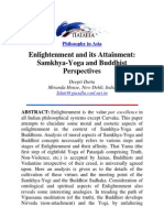 Enlightenment and its Attainment Samkhya-Yoga and Buddhist Perspectives