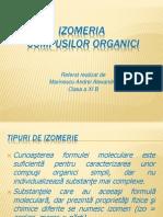 Izomeria compusilor organici
