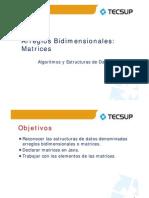 Algoritmos y Estructura de Datos - Arreglos Bidimensionales (Matrices)