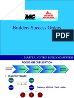 Builders Success Orders