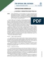 Orden HAP-2802-2012 Ausencias Por Enfermedad Sin Incapacidad Laboral