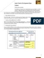 Lean Six Sigma Project Charter Creation Process