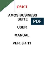 AMOS Manual