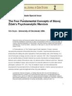 Boyle..the Four Fundamental Concepts of Zizek