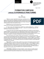 MISINFORMATION CAMPAIGN TARGETS HYDRAULIC FRACTURING by Steve Everley