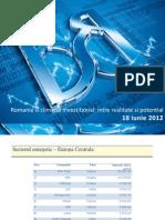 Romania si climatul investitional