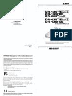 Dr135 435mk3 Fxe Insweb ALINCO