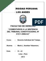 Trabajo de Derecho Laboral - Principio de Primacía de la Realidad.docx