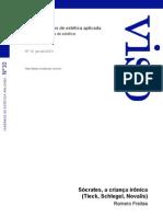 Schlegel, Sócrates, Novalis. Revista Viso Nr 10. Romero Freitas.pdf