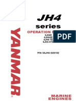 Yanmar JH4 Marine Diesel Operations Manual