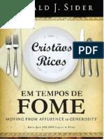 Cristaos Ricos em Tempos de Fome - Ronald Sider.pdf