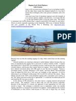 Rigging Scale Model Biplanes