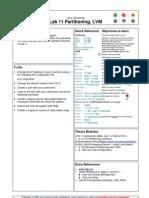 Linux Lab 11 Partitioning%2C LVM
