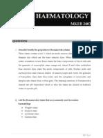 Basic Haematology Exercise 1 (MKEB2403)