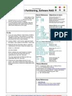 Linux Lab 12 Partitioning Software RAID