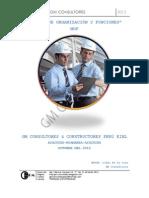 Manual Organizaciones Funciones (MOF)
