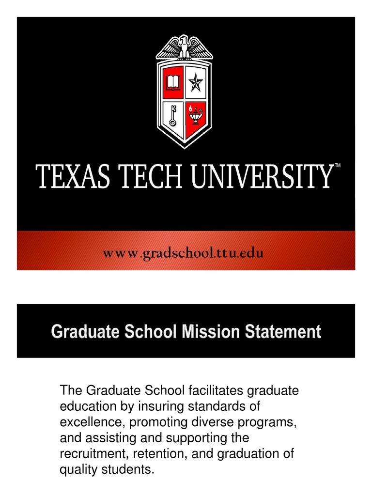 Ttu Graduate School >> Graduate Enrollment Form Graduate School Thesis