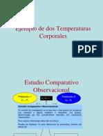 Ejemplo de Dos Temperaturas Corporal