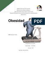 Trabajo Nutricion Obesidad