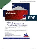 Vip Booklet a Castel Romano Designer Outlet