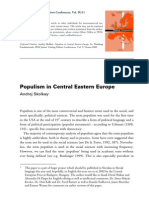 Andrej Skolkay-Populism in Central Eastern Europe