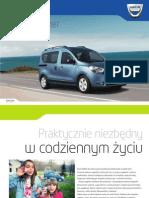 Dacia Dokker 2013 PL katalog